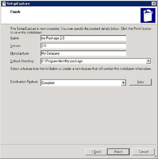 Application Snapshot Repackaging using Wise Package Studio ...