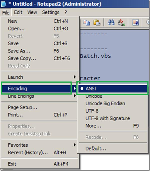 Fix: Microsoft VBScript compilation error 800A0408: Invalid