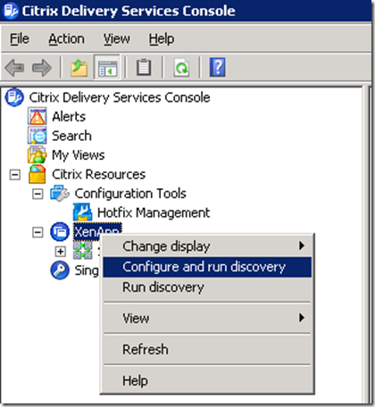 Citrix XenApp 6: Using Citrix Delivery Services Console