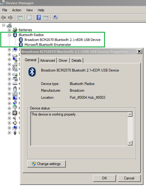Setting up Bluetooth Devices on Windows 7 – GUNNALAG