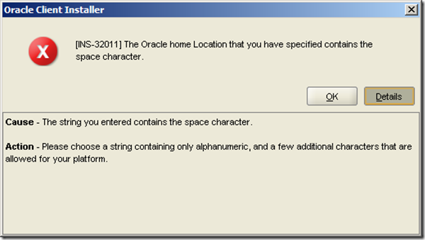 Oracle 11g Release 2 Client install Screenshots – GUNNALAG