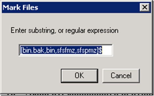 Using Windiff with a regular expression exclusion list – GUNNALAG