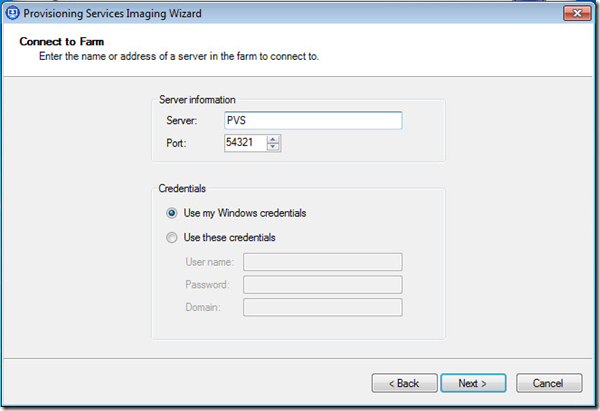 Step-By-Step: How to create a vDisk from Master Target