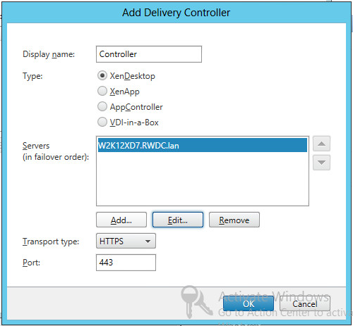 Configuring Citrix Storefront For Xendesktop 7 On Windows