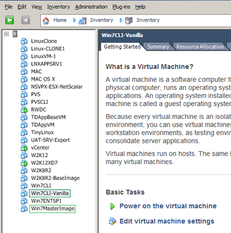 XenDesktop 7 does not show up newly added/created VMs on the