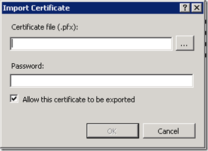 FIX: IIS SSL Certificate Binding Error: A specified logon